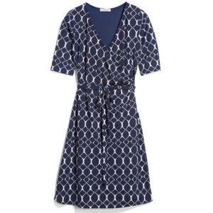 Stitch Fix - Gilli - Trista Navy Faux Wrap dress